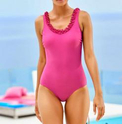 Jednodielne ružové plavky Class International