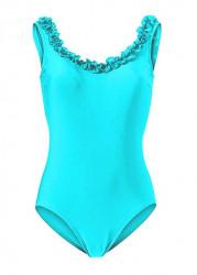 Jednodielne tyrkysové plavky Heine