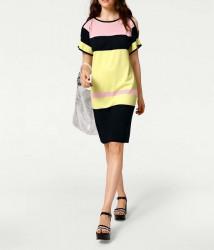Jemné pletené šaty Rick Cardona, viacfarebná #1