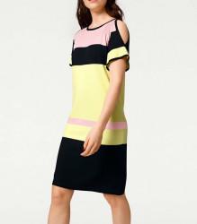 Jemné pletené šaty Rick Cardona, viacfarebná #2