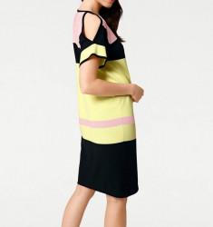 Jemné pletené šaty Rick Cardona, viacfarebná #3
