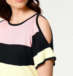 Jemné pletené šaty Rick Cardona, viacfarebná #4