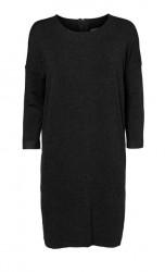 Jemne pletené šaty VERO MODA, čierna