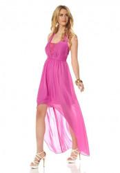 Jessica Simpson šifónové šaty, ružová #2