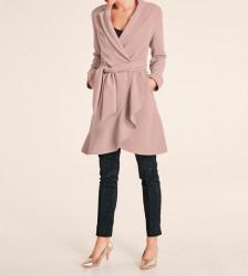 Kabátik s volánom Heine, ružová