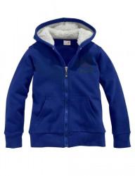 KANGAROOS detská jemná tepláková bunda na zips