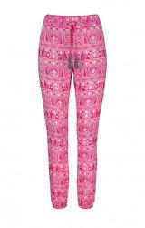 KangaROOS nohavice, ružovo-biela
