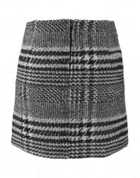 Káro sukňa čierno-biela, Aniston