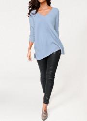 Kašmírový sveter, svetlomodrý PATRIZIA DINI #1