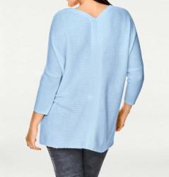 Kašmírový sveter, svetlomodrý PATRIZIA DINI #4