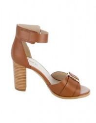 Koňakové sandále so sponou HEINE #2