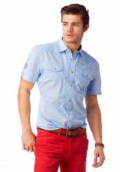 Košeľa s krátkym rukávom John Devin