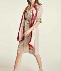 Košeľové šaty HEINE, piesková
