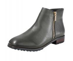 Kotníkové kožené topánky, Heine