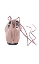 Kožené baleríny Andrea Conti, ružová #5