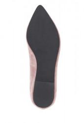Kožené baleríny Andrea Conti, ružová #6