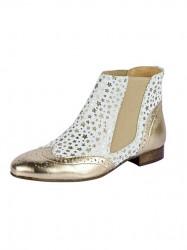 Kožené členkové topánky