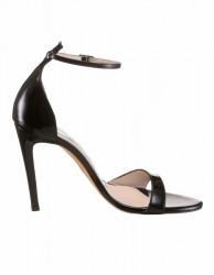 Kožené lakované sandále Guido Maria Kretschmer, čierna #1