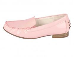 Kožené lakované topánky Gabor, ružové #1