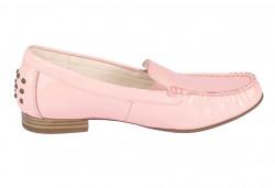 Kožené lakované topánky Gabor, ružové #2