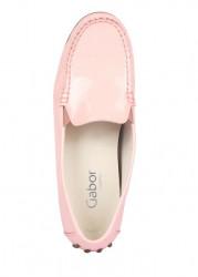 Kožené lakované topánky Gabor, ružové #3