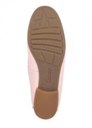 Kožené lakované topánky Gabor, ružové #6