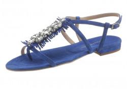 Kožené sandále Guido Maria Kretschmer, modrá