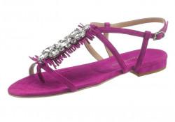 Kožené sandále Guido Maria Kretschmer, ružová
