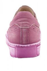Kožené tenisky Andrea Conti, ružová #5