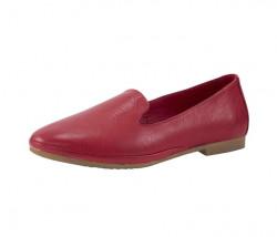 Kožené topánky Andrea Conti, červená