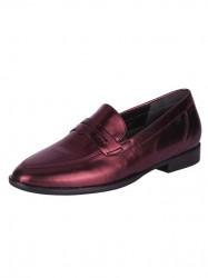 Kožené topánky Gabor, červená-metalická