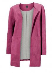 Kožený kabát Heine, ružový