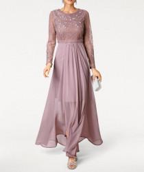 Krehké spoločenské šaty Ashley Brooke #1