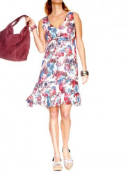 Kvetinové šaty s volánmi HEINE - B.C.
