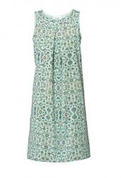 Kvetované letné šaty, mätová