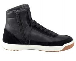 Lacoste kožené členkové sneakersy, cierne #2