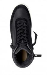 Lacoste kožené členkové sneakersy, cierne #3