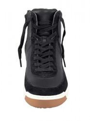 Lacoste kožené členkové sneakersy, cierne #4