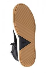 Lacoste kožené členkové sneakersy, cierne #6