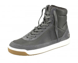 Lacoste kožené členkové sneakersy, šedé