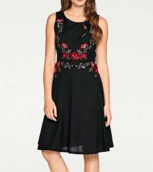Ľanové vyšívané šaty Ashley Brooke #1
