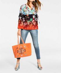 Letná shopperka HEINE, oranžová #2