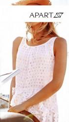 Letné biele šaty APART #2