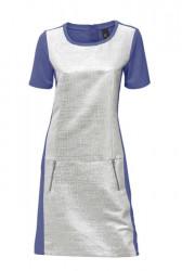 Ležérne strieborné šaty HEINE - B.C.