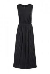 Maxi šaty s plisom Heine - Best Connections, čierna