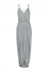 Maxi šaty VERO MODA, sivá