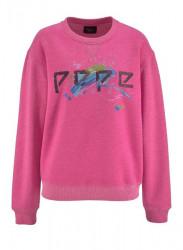 Mikina Pepe Jeans, ružová