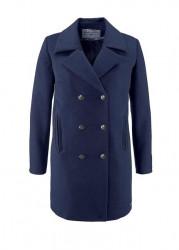 Námornícky kabát Tom Tailor, modrá