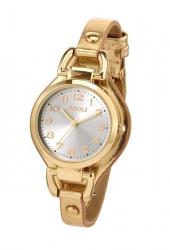 Náramkové hodinky POOLS , zlatá farba
