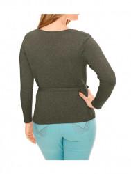 Olivový zavinovací sveter HEINE - B.C. #3
